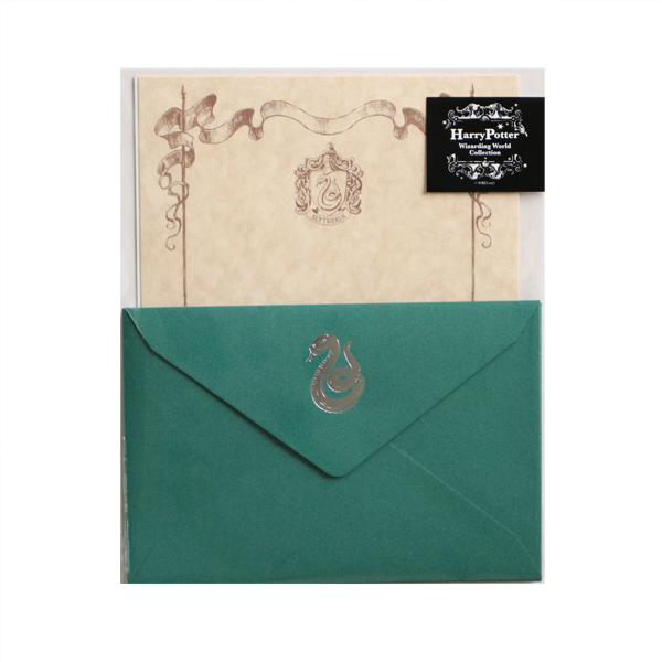 Harry Potter Collection レターセット<Slytherin>HP-018