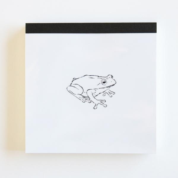 Animal Series メモパッド・スクエア<カエル>GF-398