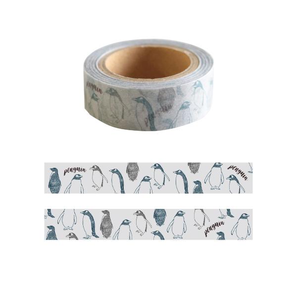 Animal Series マスキングテープ<ペンギン> GF-402