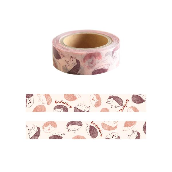 Animal Series マスキングテープ<ハリネズミ> GF-403