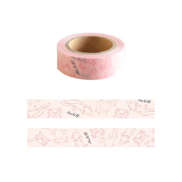 Animal Series マスキングテープ<ウーパールーパー> GF-405