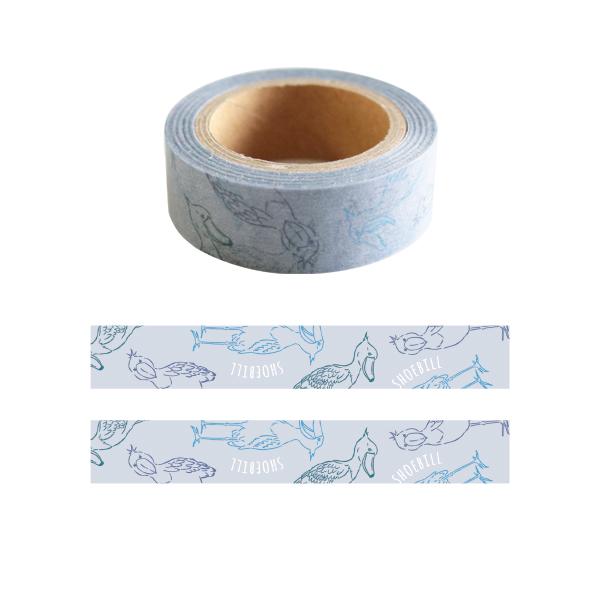 Animal Series マスキングテープ<ハシビロコウ> GF-407