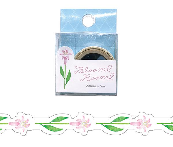 BloomRoom ダイカットマスキングテープ<yuri>BR-016