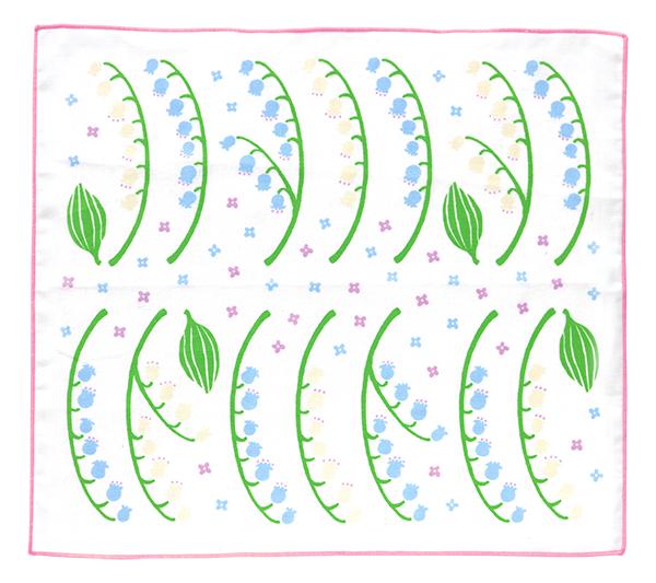 BloomRoom ハンカチ<suzuran>BR-022