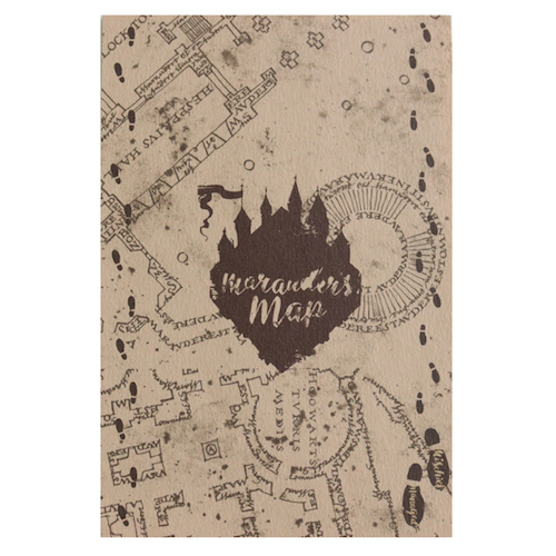 Harry Potter Collection ポストカード<Marauder's Map>HP-034
