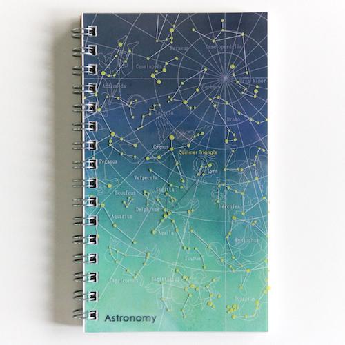 STUDY HOLIC スリムリングノート<天文学>ST-052