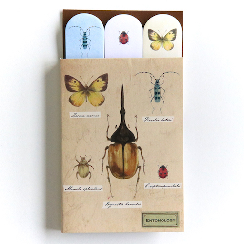 STUDY HOLIC スティッキーブック<昆虫学>ST-067