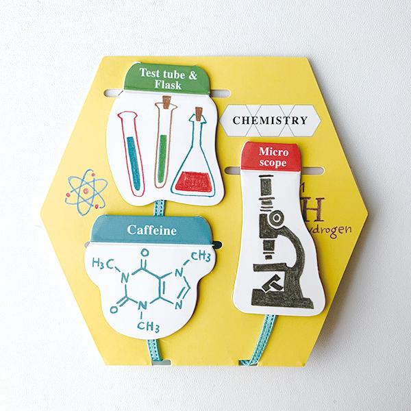 STUDY HOLIC マグネットブックマーカー<化学>ST-071