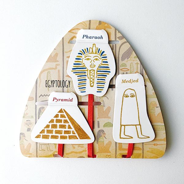 STUDY HOLIC マグネットブックマーカー<古代エジプト学>ST-075