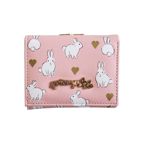 spice up life 三つ折り財布<rabbit>SU-016