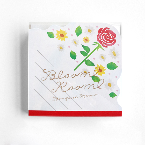 BloomRoom ブーケメモパッド<bara>BR-028