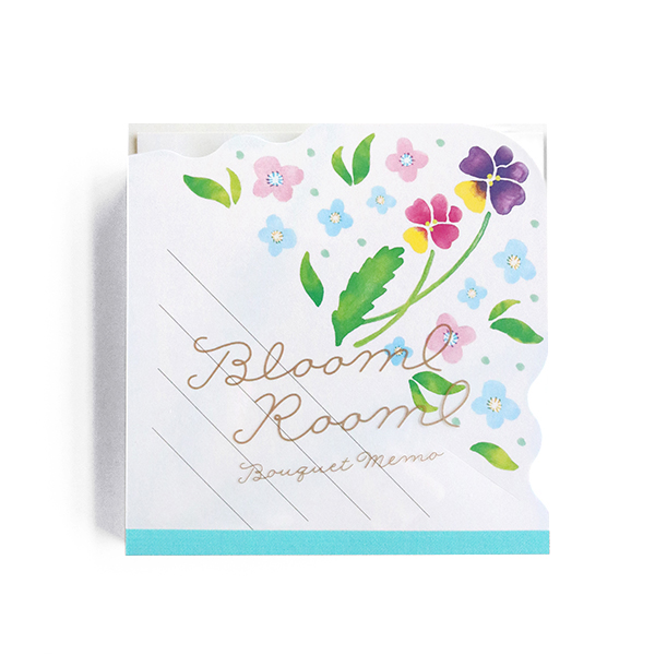 BloomRoom ブーケメモパッド<sumire>BR-030