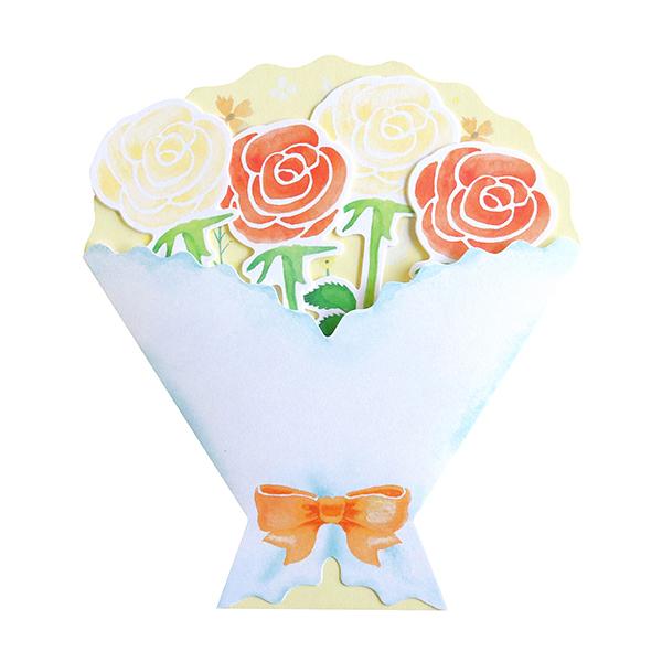 BloomRoom ブーケ色紙ミニ<orange> BR-033