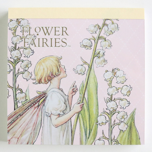 FLOWER FAIRIES メモパッド・スクエア<The Lily-the-Valley-Fairy>FF-139