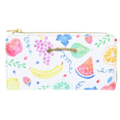 effortless beauty 長財布<fruit>EB-001