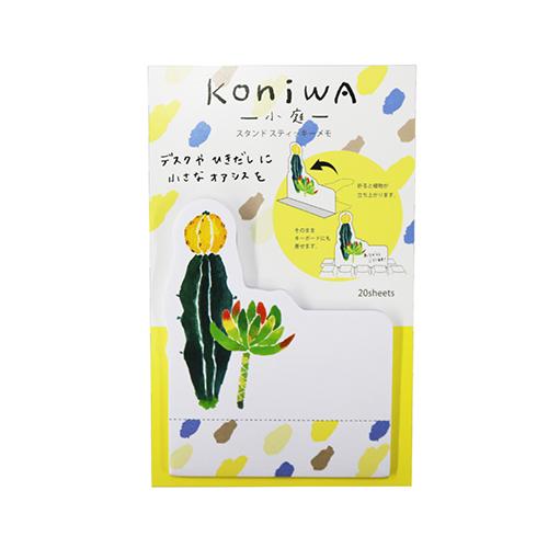 koniwa スタンドスティッキーメモ<サボテン>KW-010