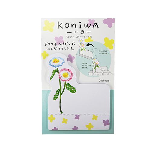 koniwa スタンドスティッキーメモ<デイジー>KW-011