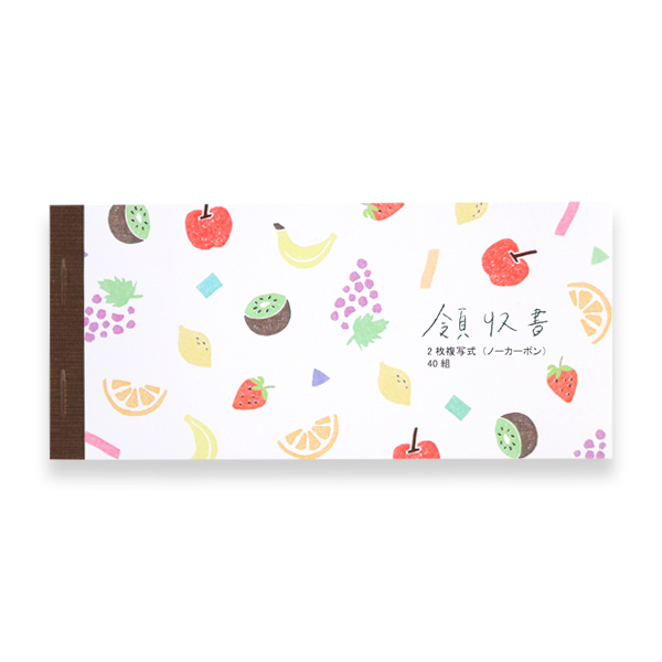 領収書<Fruits>GRD-017