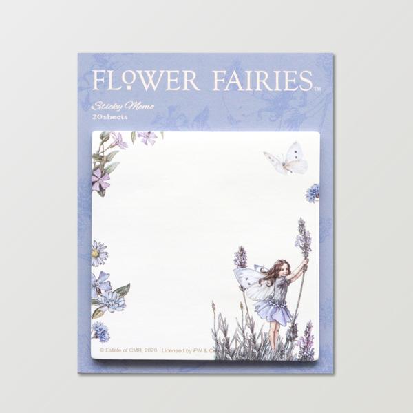 FLOWER FAIRIES スクエア付箋 <Lavender>FF-149