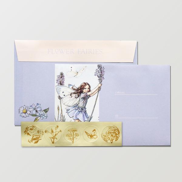 FLOWER FAIRIES 封筒 <Lavender>FF-153