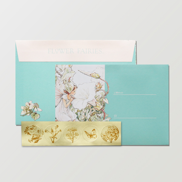 FLOWER FAIRIES 封筒 <White Bindweed>FF-155