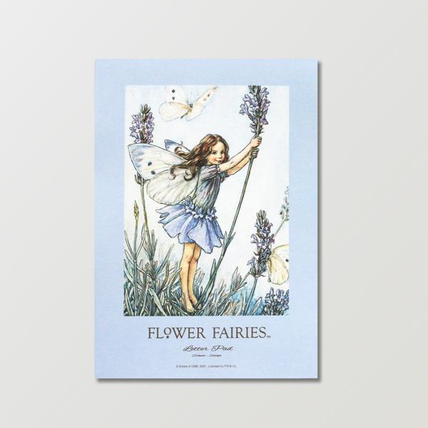 FLOWER FAIRIES レターパッド <Lavender>FF-157