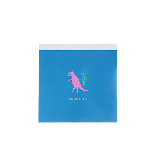 BROOCHIR メモパッド・スクエア<dinosaur>BC-045