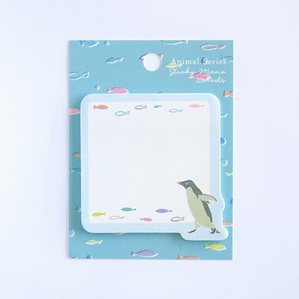 Animal Series スティッキーメモ<ペンギン> GF-486