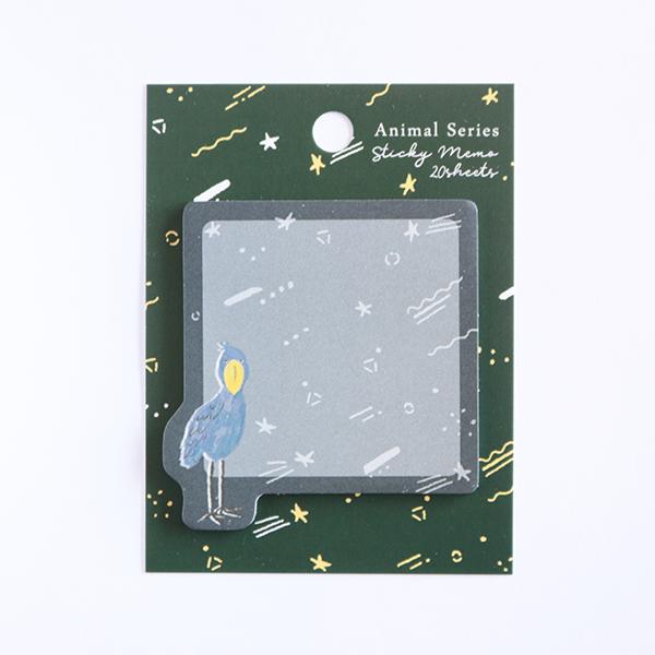 Animal Series スティッキーメモ<ハシビロコウ> GF-490