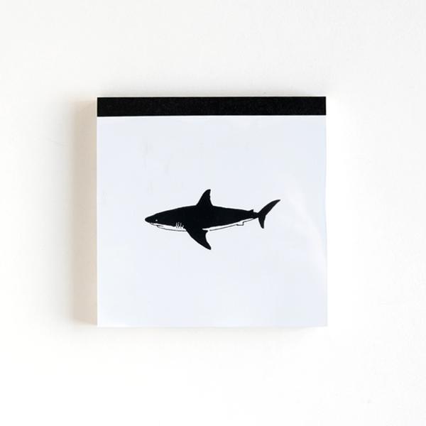 Animal Series メモパッド・スクエア<サメ> GF-492