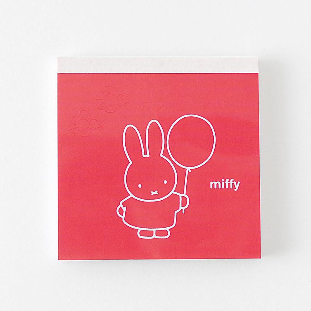 miffy メモパッド・スクエア<balloon> BM-004