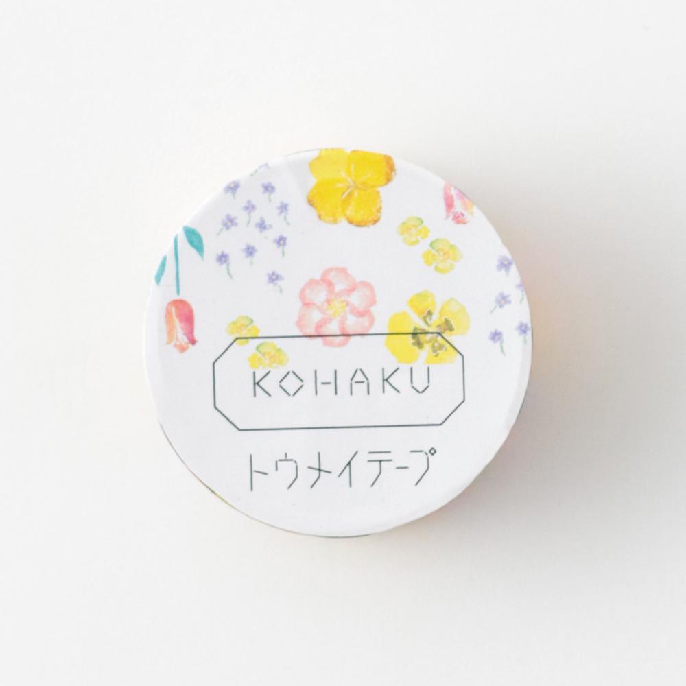 KOHAKU トウメイテープ<flower> KK-011