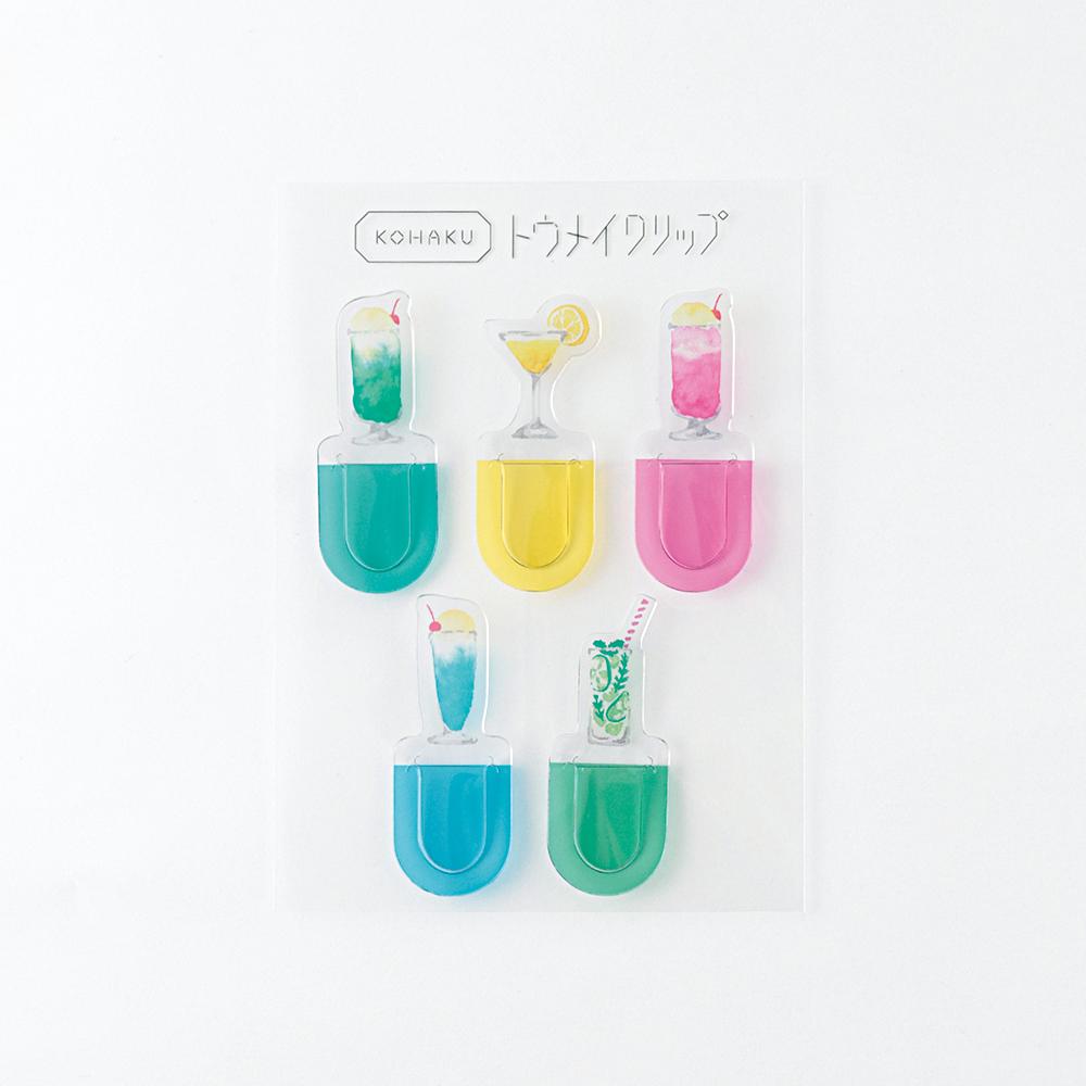 KOHAKU トウメイクリップ<drink> KK-013