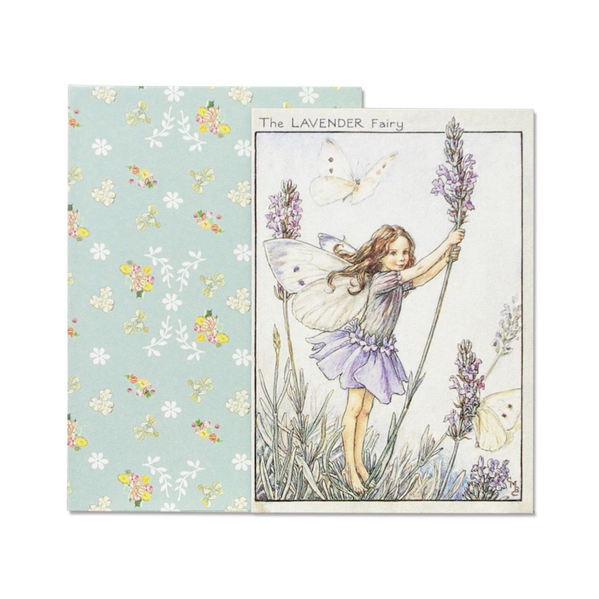 FLOWER FAIRIES グリーティングカードセット<Lavender>