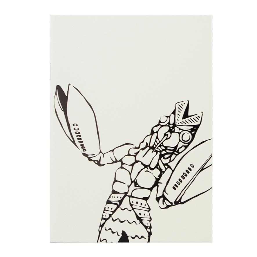 KAIJYU SERIES B6サイズ 中綴じノート<バルタン星人>