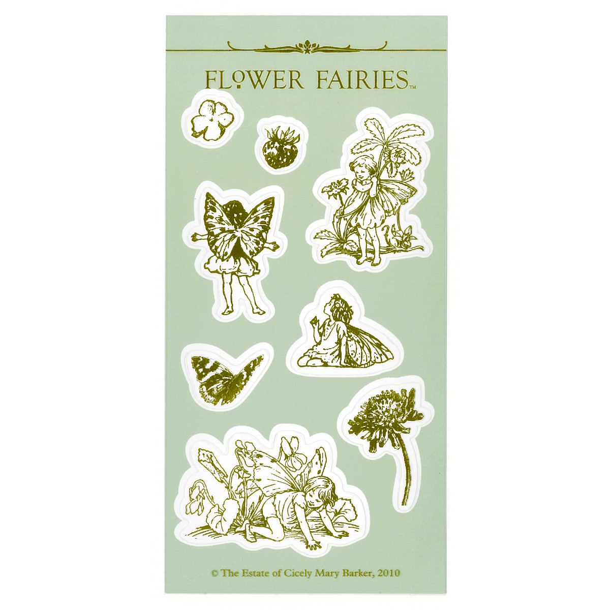 FLOWER FAIRIES シール< C >