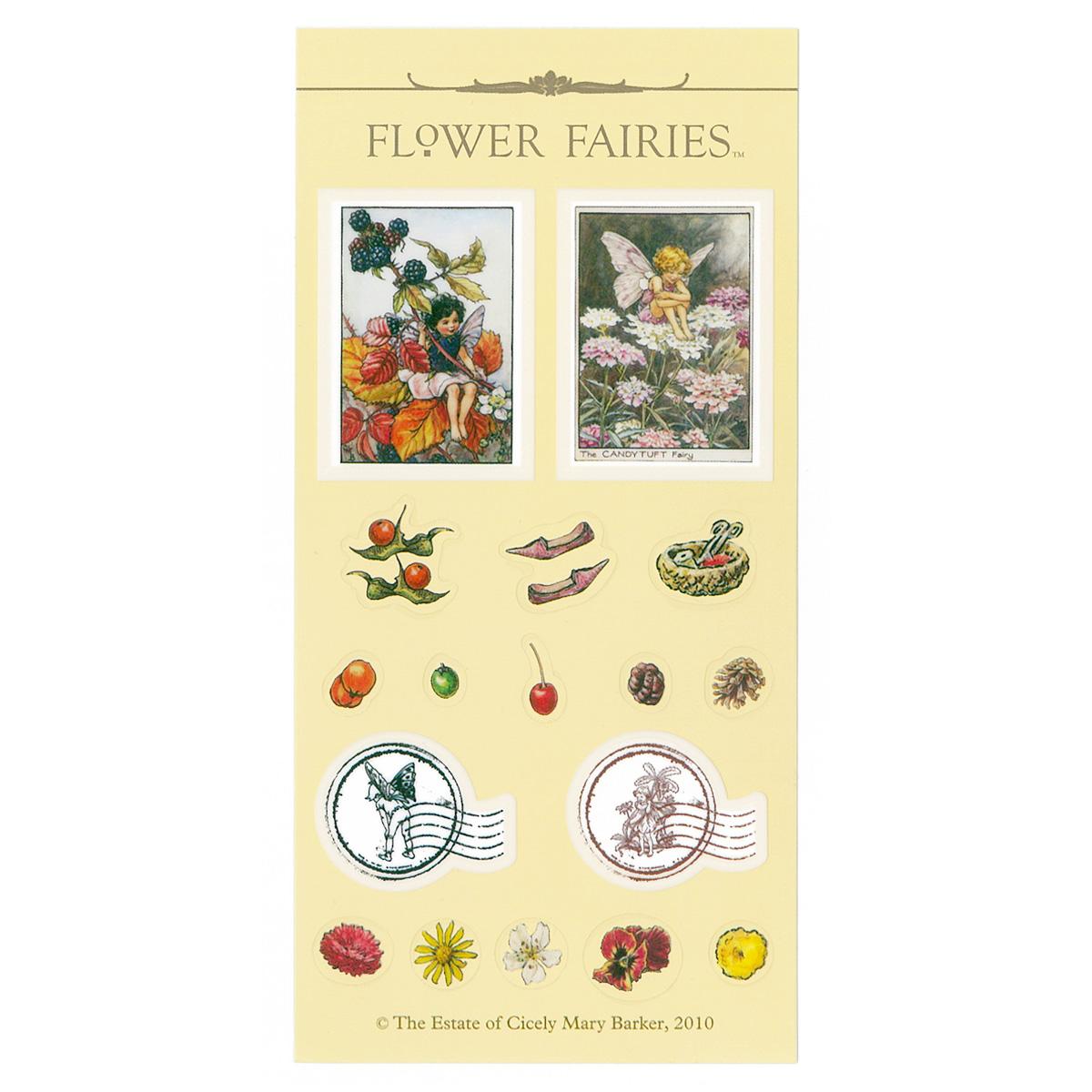 FLOWER FAIRIES シール< B >