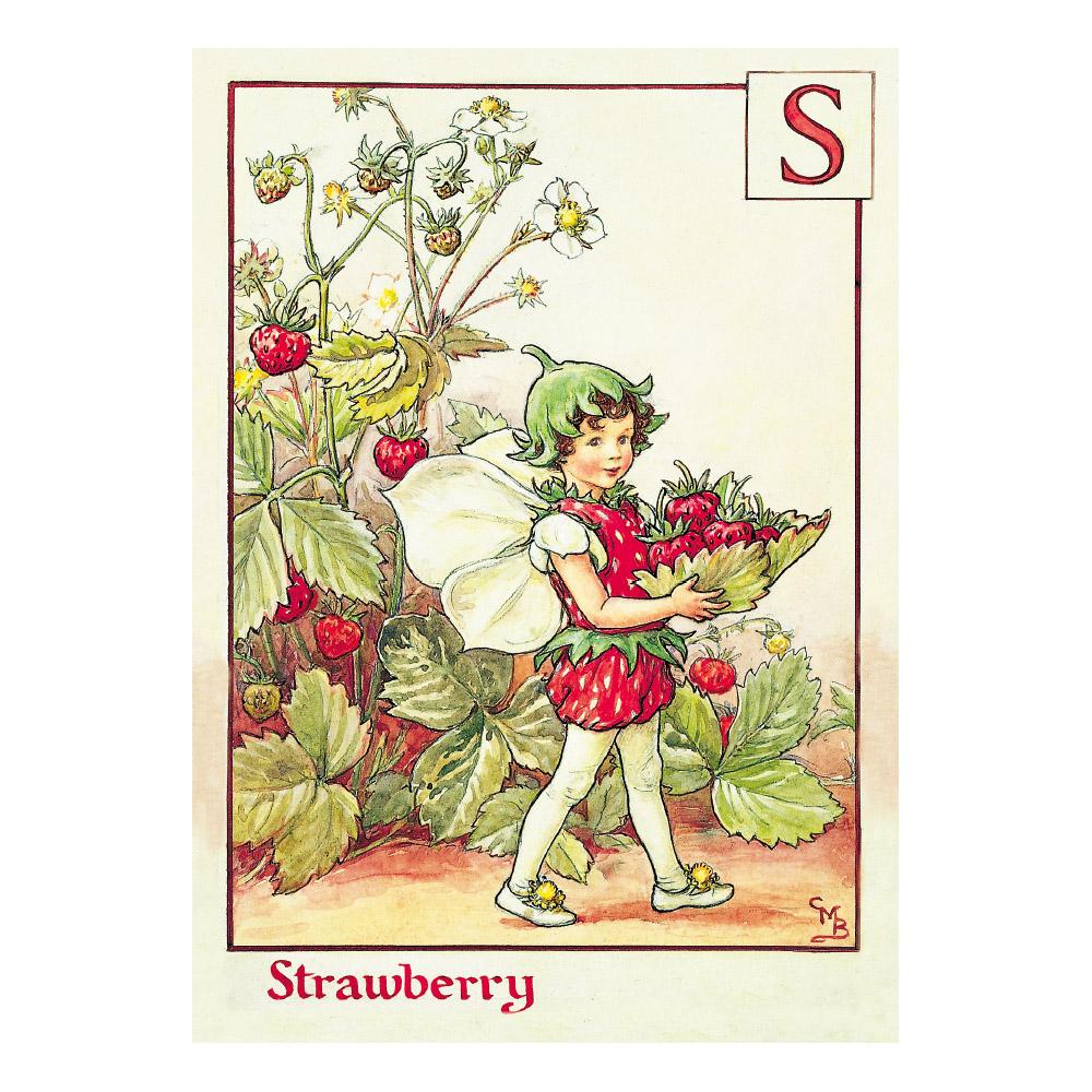 FLOWER FAIRIES ポストカード<Strawberry Fairy>