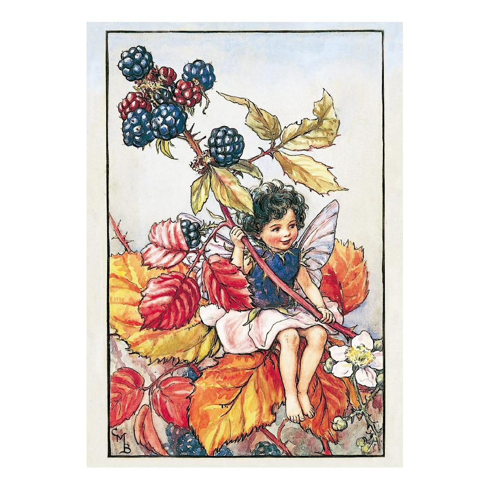 FLOWER FAIRIES ポストカード<Blackberry Fairy>
