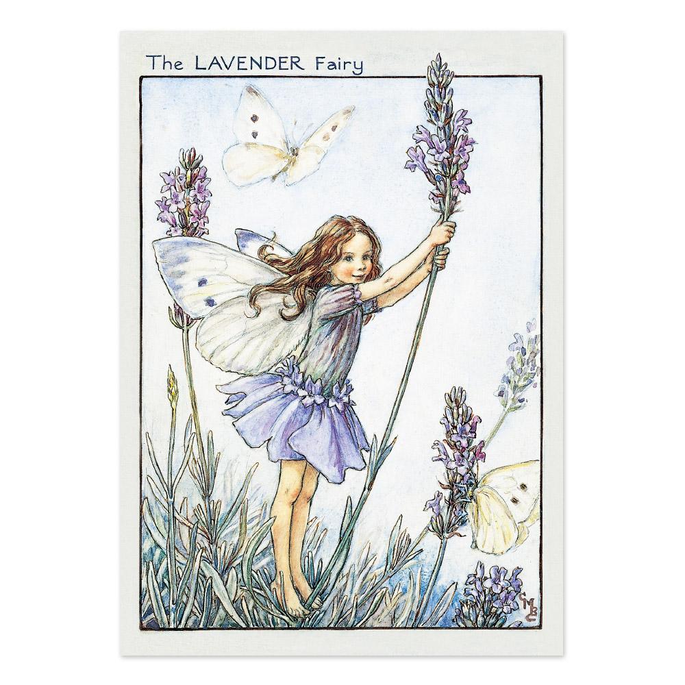 FLOWER FAIRIES ポストカード<Lavender Fairy>