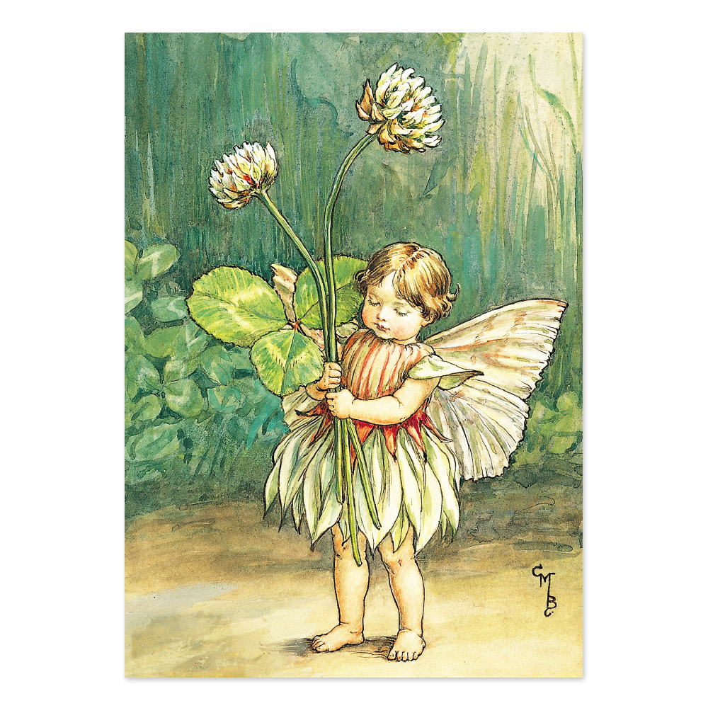 FLOWER FAIRIES ポストカード<WhiteClover Fairy>