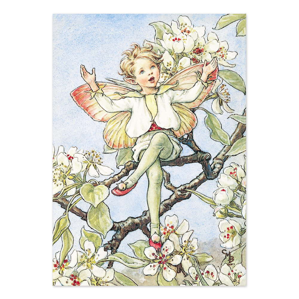 FLOWER FAIRIES ポストカード<The Pear Blossom Fairy>