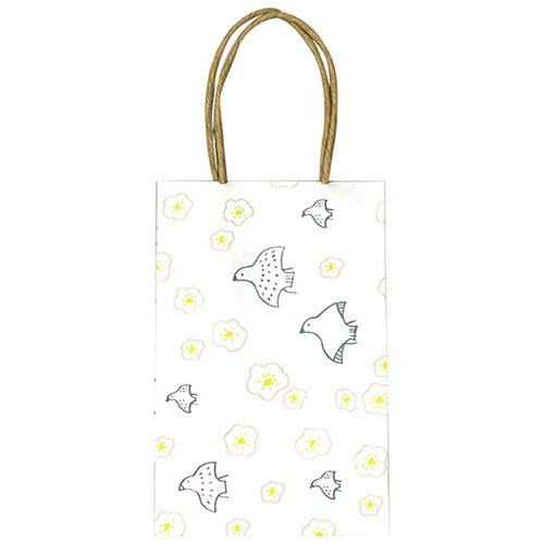 chobit wit ミニ紙袋Sサイズ<birds&flower>