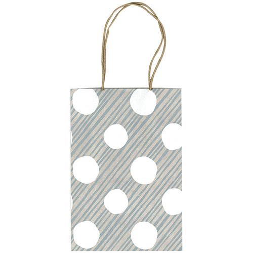 chobit wit ミニ紙袋Mサイズ<dot&stripe>