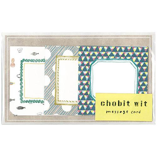 chobit wit メッセージカード<shikaku_sankaku>