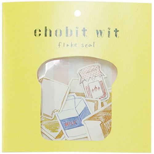 chobit wit フレークシール<breakfast>