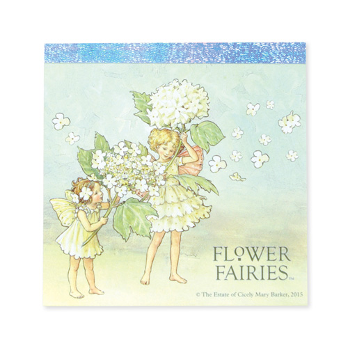 FLOWER FAIRIES メモパッド・スクエア<Guelder Rose>