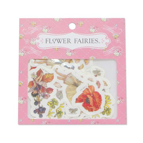 FLOWER FAIRIES フレークシール<pink>