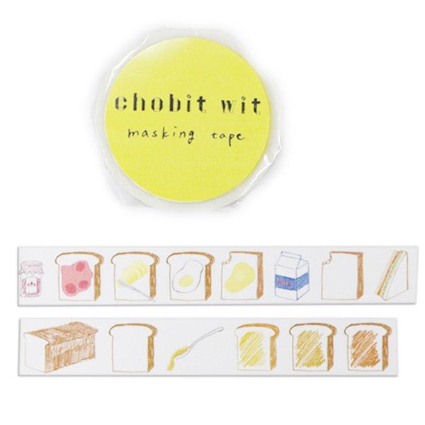 chobit wit マスキングテープ<breakfast>CW-070