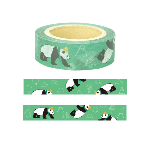 Animal Series マスキングテープ<パンダ>